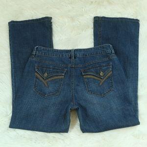 Apt 9 Bootcut Blue Jeans